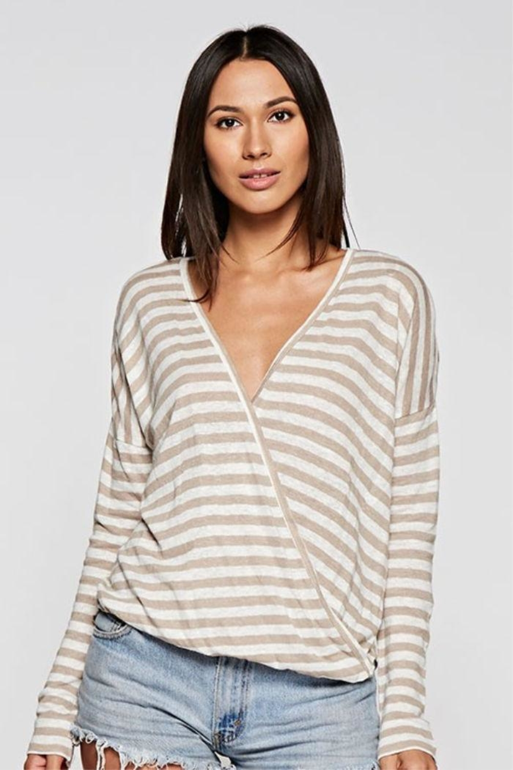 Lovestitch Striped Long Sleeve - Main Image