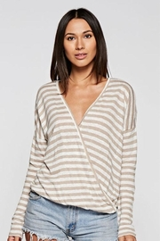 Lovestitch Striped Long Sleeve - Product Mini Image