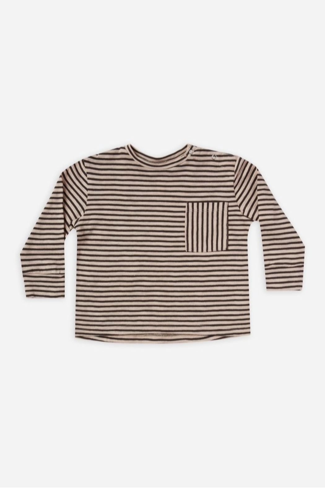 Rylee & Cru Striped Long Sleeve Skater Tee - Main Image