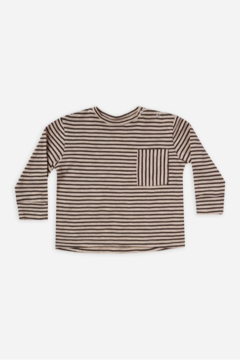 Rylee & Cru Striped Long Sleeve Skater Tee - Product List Image