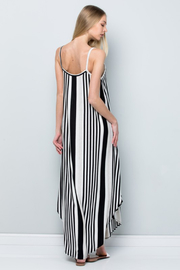 R+D  Striped Maxi - Back cropped