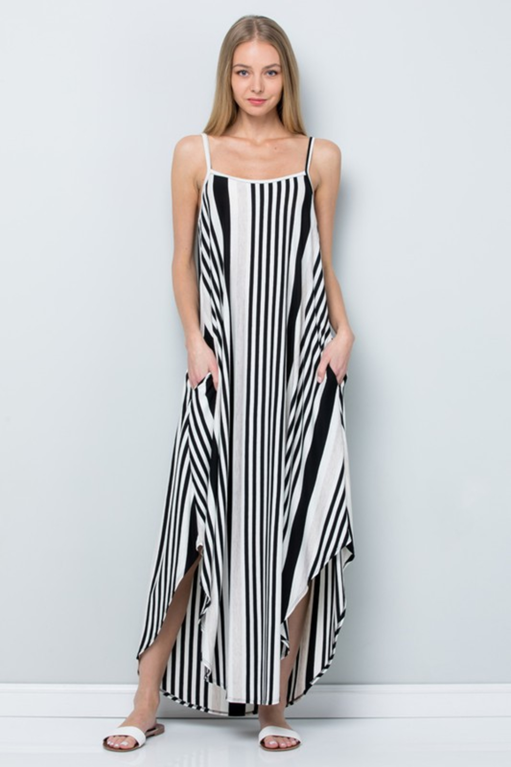 R+D  Striped Maxi - Front Full Image