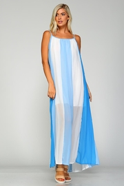 Racine Striped Maxi Dress - Product Mini Image