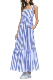 English Factory Striped Maxi Dress - Product Mini Image