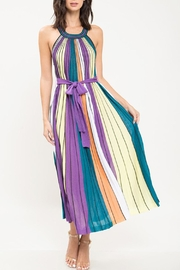 The Vintage Valet Striped Maxi Dress - Product Mini Image