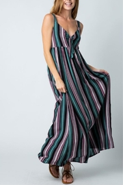 Cozy Casual Striped Maxi Dress - Product Mini Image