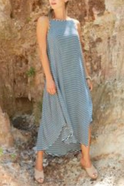 Mud Pie Striped Micheala Maxi - Product Mini Image