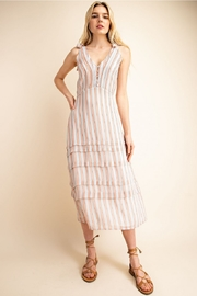 Gilli  Striped Midi Dress - Product Mini Image