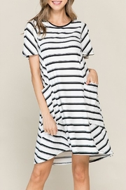 Chris & Carol Striped Midi Dress - Product Mini Image