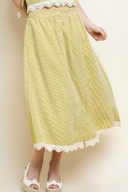 Umgee USA Striped Midi Skirt - Product Mini Image