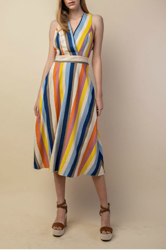 lelis Striped mini dress - Product List Image