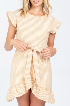 ALB Anchorage Striped Mini Ruffle-Dress - Product List Image