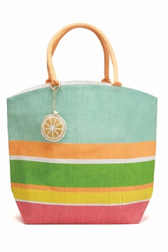 Shoptiques Product: Striped Mint Tote