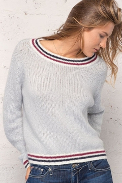 Shoptiques Product: Striped Neck Sweater
