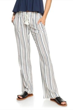 Roxy Striped Oceanside Pants - Product List Image