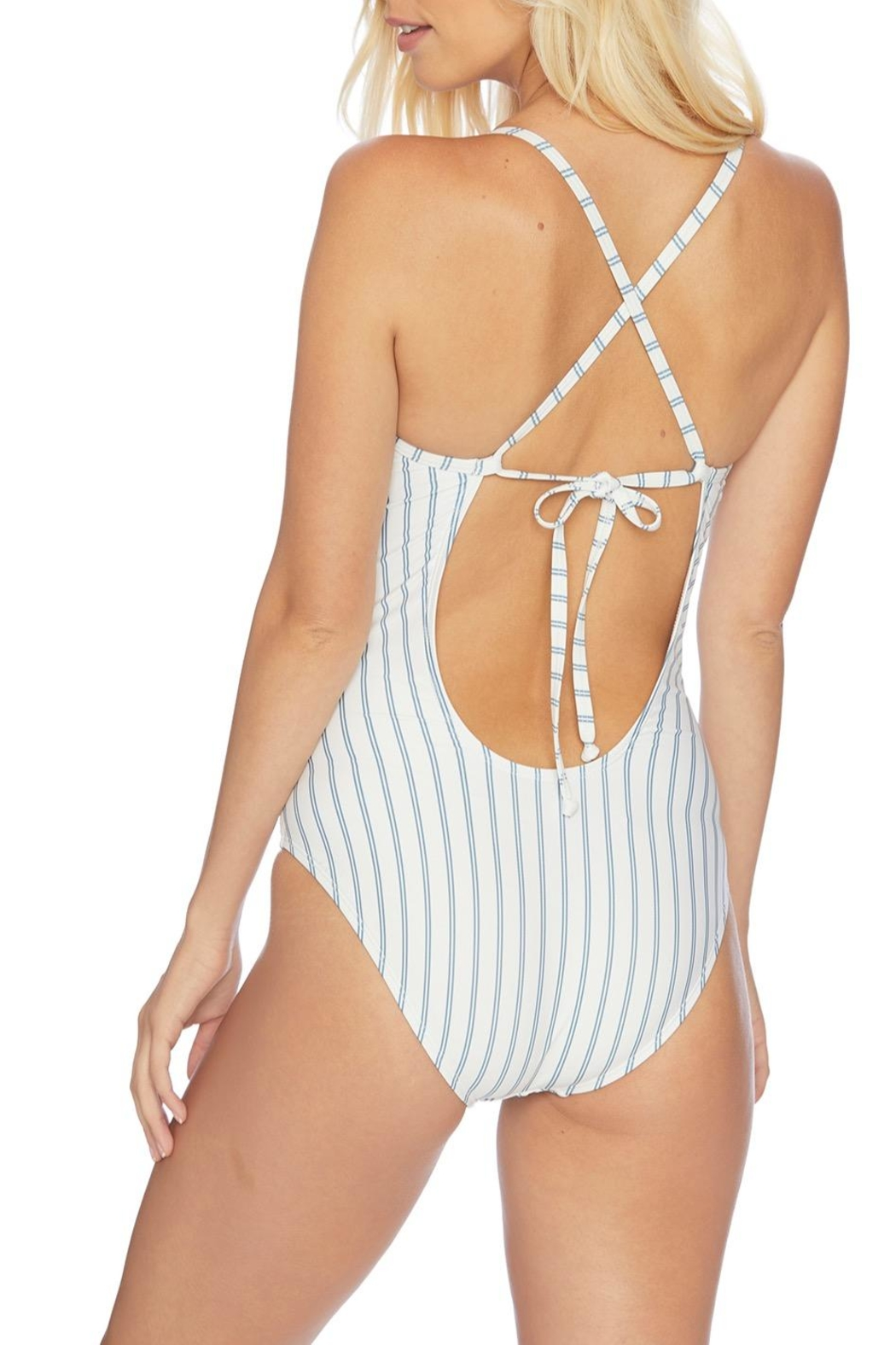 Splendid Striped One Piece - Front Full Image
