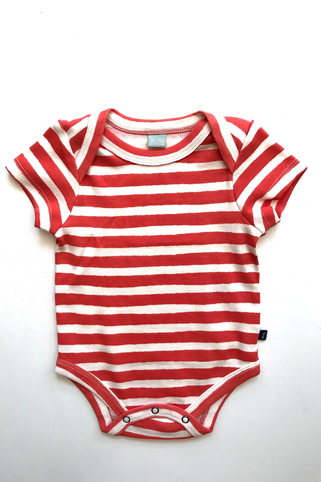 FiNN+EMMA Striped Onesie - Front Cropped Image