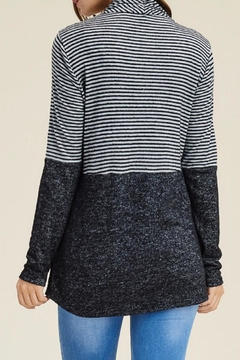 LuLu's Boutique Striped Open Cardigan - Alternate List Image