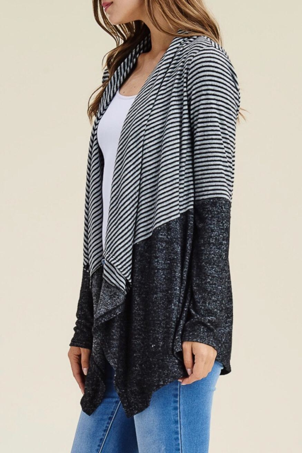 b3c454c6162 LuLu s Boutique Striped Open Cardigan from Washington — Shoptiques