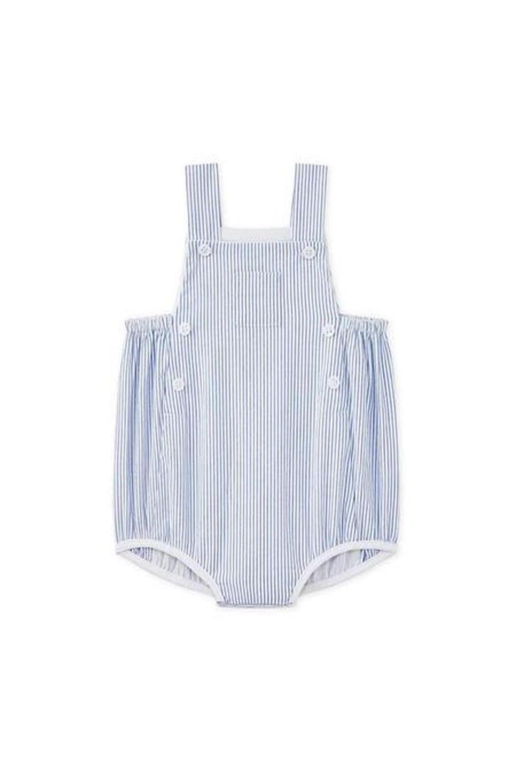 petit bateau Striped Overall - Front Cropped Image