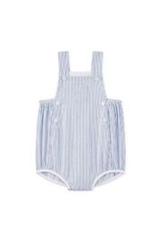 petit bateau Striped Overall - Front cropped