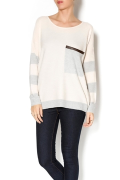 Kerisma Striped Oversized-Pocket Sweater - Product List Image