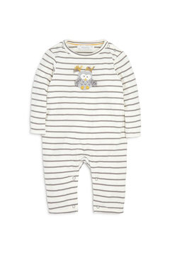 Shoptiques Product: Striped Owl Babygro Romper