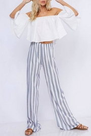 Fantastic Fawn Striped Palazzo Pant - Product Mini Image