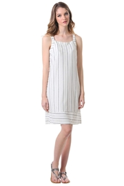 Neesha striped panel shift Dress - Product Mini Image