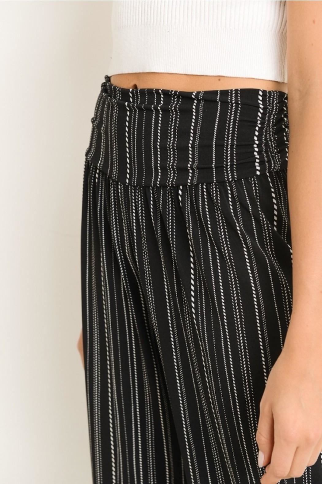 Gilli Striped Pants - Front Full Image