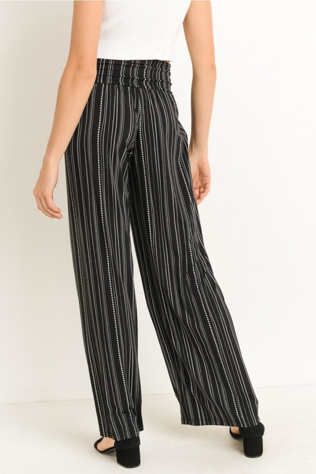 Gilli Striped Pants - Side Cropped Image