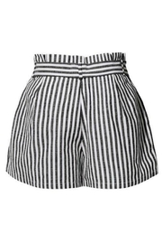 2Sable Striped Paperbag-Waisted Shorts - Side cropped