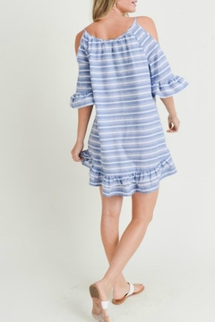 Doe & Rae Striped Peplum Sundress - Alternate List Image