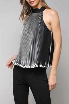 Shoptiques Product: Striped Pleated Halter