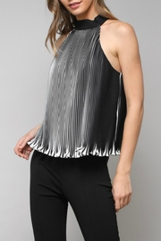 Do & Be Striped Pleated Halter - Product Mini Image