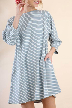 Shoptiques Product: Striped Pocket Dress
