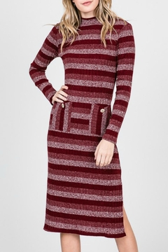 Kayla's Armoire Striped Pocket Dress - Alternate List Image