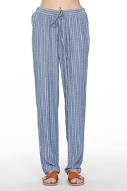En Creme Striped Pocket Pants - Product Mini Image