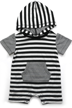 Kapital K Striped Pocket Romper - Product List Image
