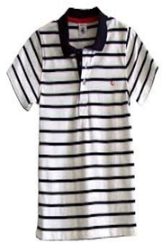 Petit Bateau Striped Polo - Front cropped