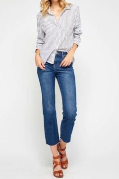 Gentle Fawn Striped Preppy Top - Product List Image