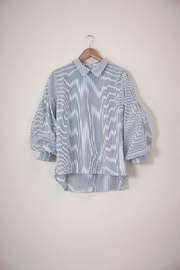 UCHUU Striped Puffy Shirt - Product Mini Image