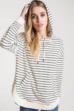 Shoptiques Product: Striped Pull Over
