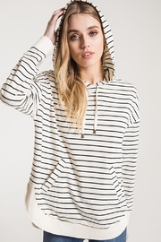 z supply Striped Pull Over - Product Mini Image