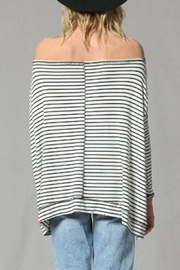By Together Striped Pullover Top - Side cropped