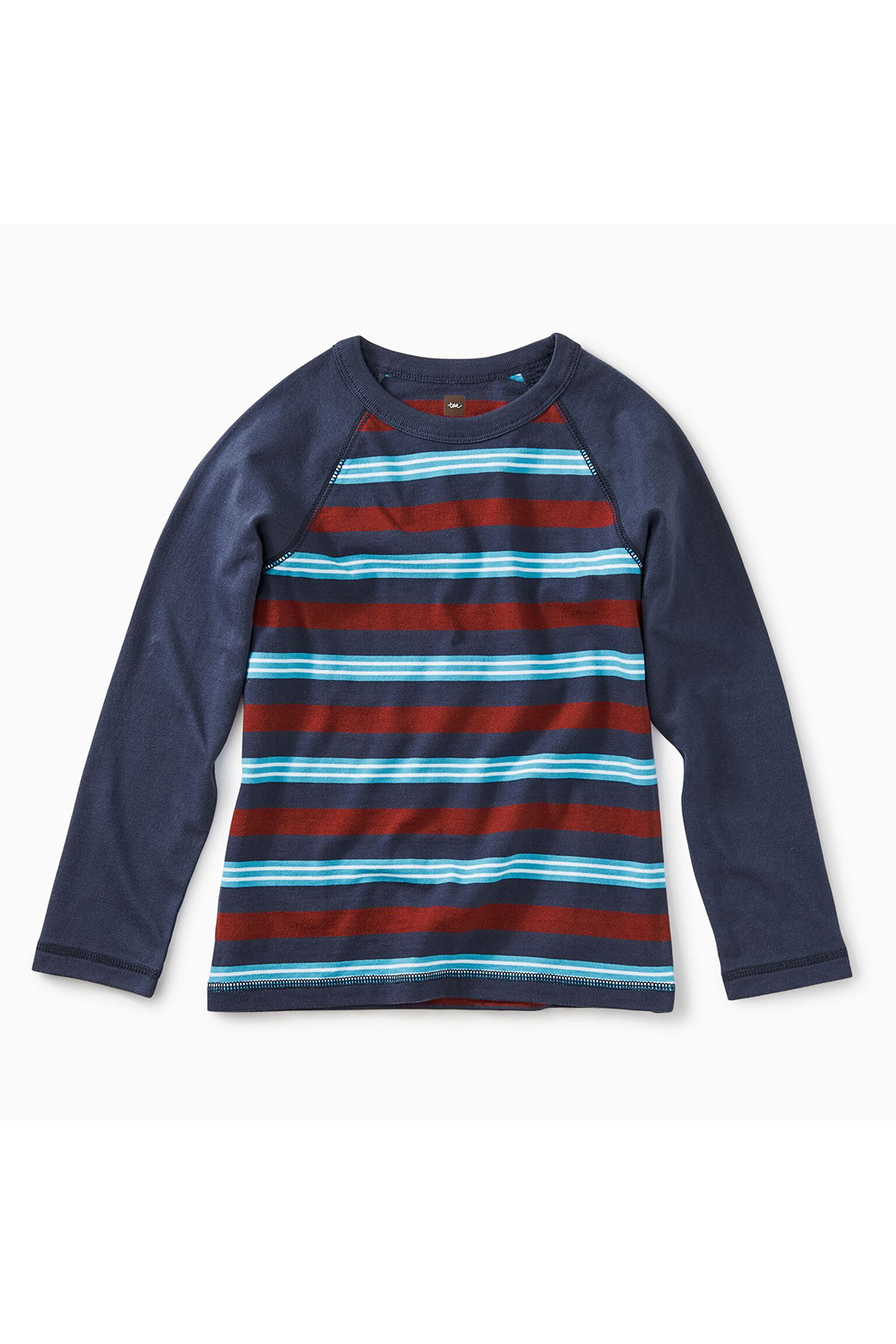 Tea Collection Striped Raglan Tee - Main Image