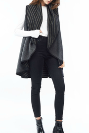 Look by M Striped Reversible Vest - Product Mini Image