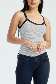 Emory Park Striped Ribbed Bodysuit - Product Mini Image