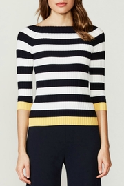 Bailey 44 Striped Ribbed Sweater - Product Mini Image
