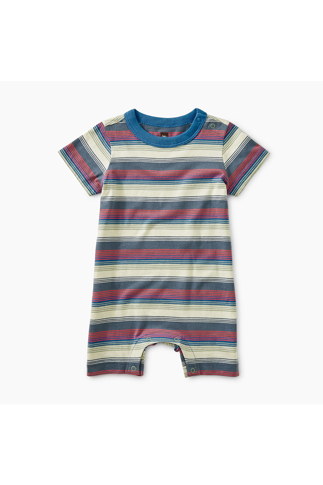 Tea Collection Striped Romper - Main Image